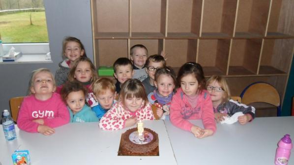 bon anniversaire Noéline 5 ans!