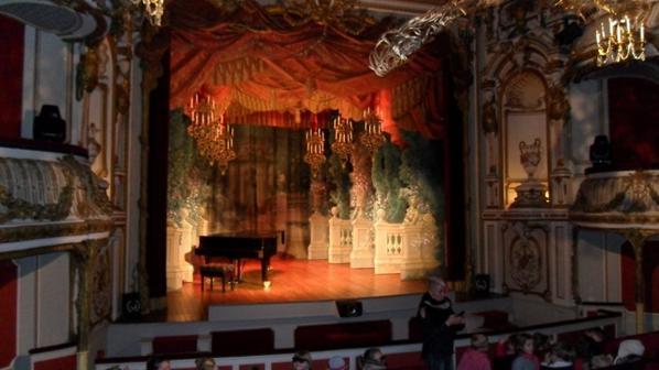 Le théâtre du Château de Chimay