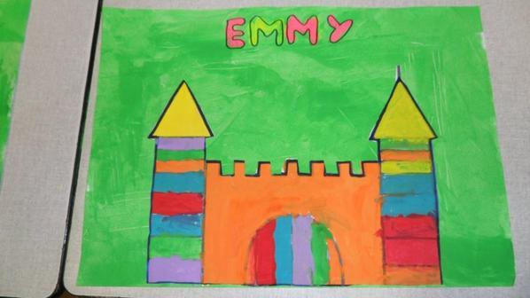 peinture de nos châteaux : M2,M3