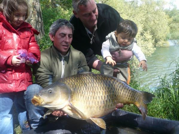 premier poisson avec mon fils