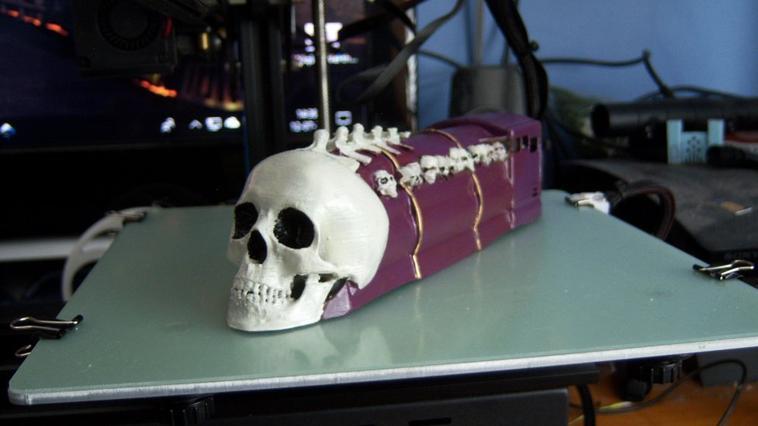 loco skull couleur