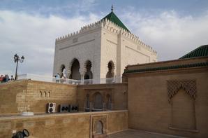le Mausolée de Mohamed V  à Rabat, Maroc
