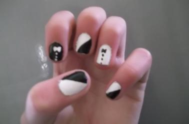 5ème Article : N½uds noir+blanc.