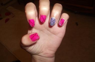 19ème Article : Rose & violet, et petits pois :)