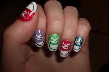 67ème Article : Converses nail-art!