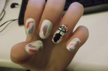 70ème Article : Nail arts avec Stamping