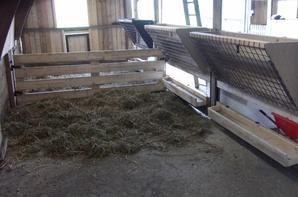 Bergerie - Prête à accueillir les moutons