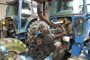 rénovation d' un ford 7910