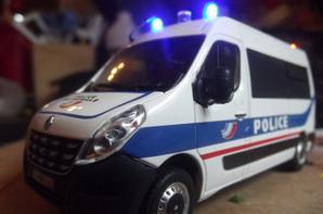 renault master Police Nationnal led.