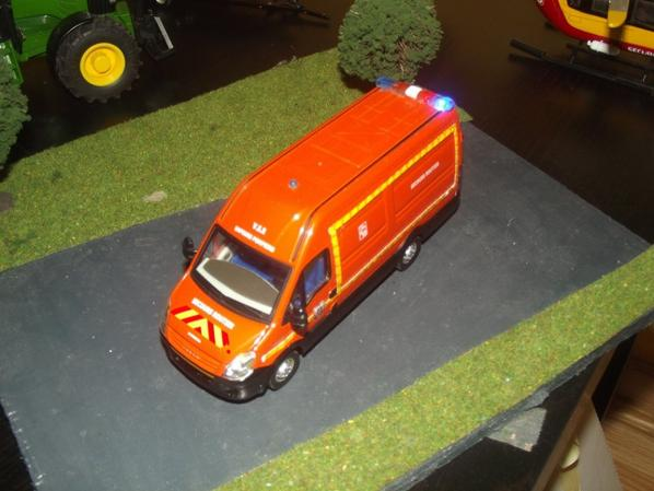 VSR iveco daily led.