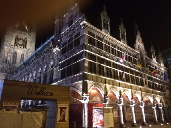 Ypres un soir de décembre.