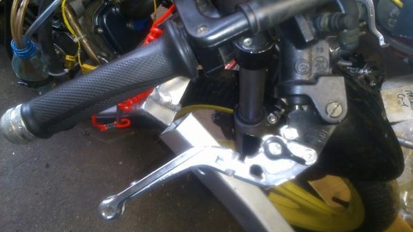 Modification du freinage avant