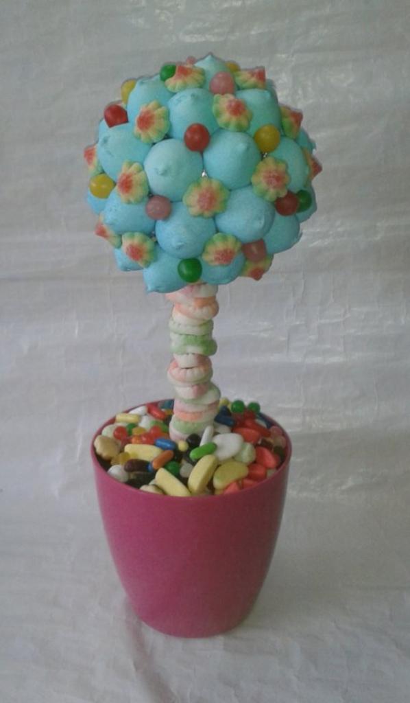 arbre en bonbon