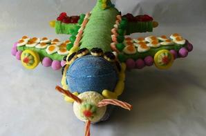 avion en bonbon