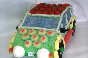 voiture en bonbon