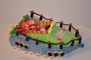 Bateau en bonbon