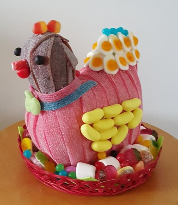 poulet en bonbon
