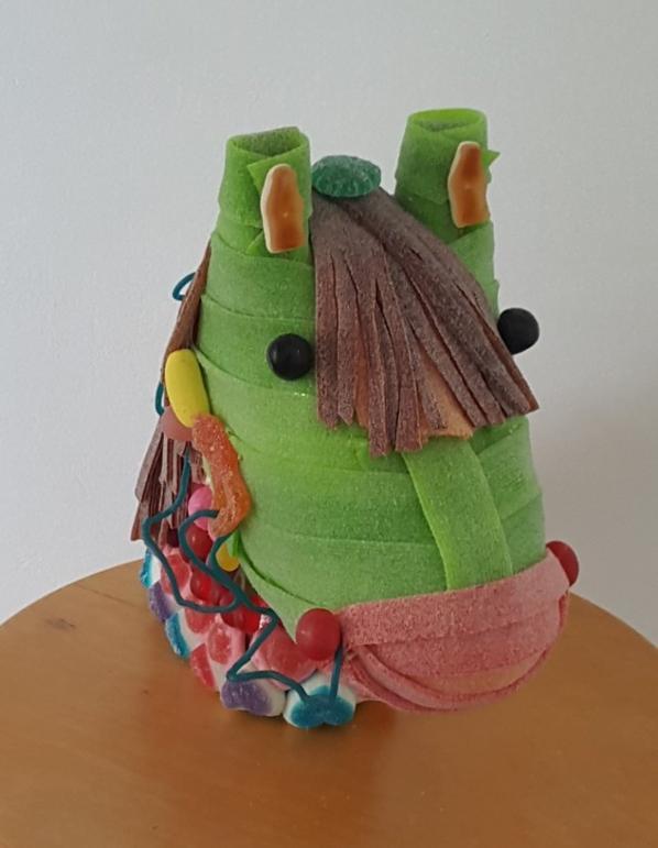 tete de cheval en bonbon