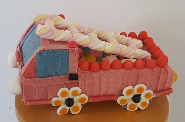 canion de pompier en bonbon