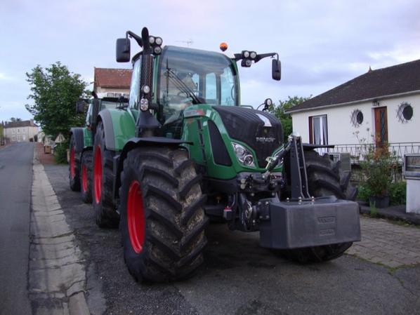 marchant de tracteur !