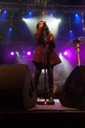 TAL au Grand Bornand pour le concert Glisse en coeur le 23/03/13