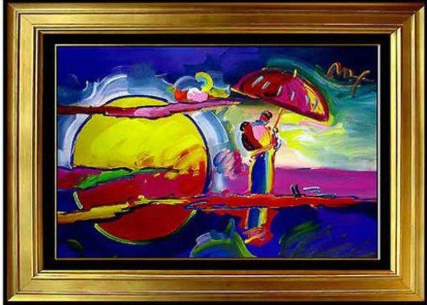 Peter Max Mixed Media Original Paintings