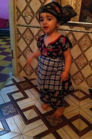 Je t'aime Ma-niece-Malak. 2016