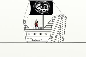 Troll Boat !