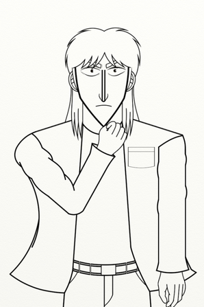 ITOU Kaiji de KAIJI (fan art)