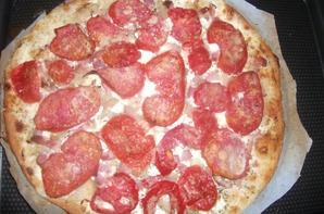 Pizza façon flamenküche