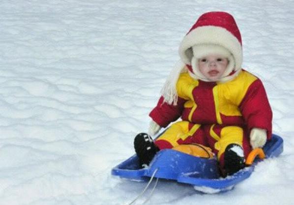 Nolan au ski