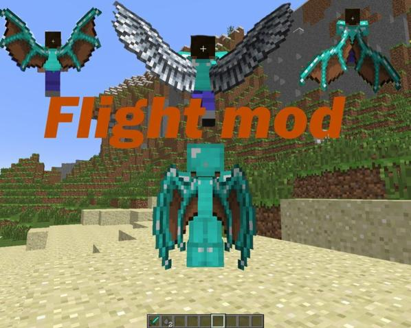 Mod minecraft Simple Flight