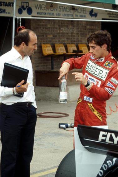 Frank Williams et Ayrton Senna (1983) - Gerhard Berger (1988)