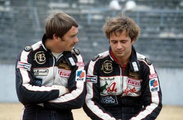 Nigel Mansell et Elios De Angelis - Thierry Boutsen et Ayrton Senna