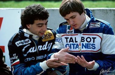 Michele Alboreto et Eddie Cheever (Zolder 1982) après l'accident de Gilles  - Mika Hakkinen et Michael Schumacher (Estoril 1991)