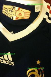 Maillot porté (ou préparé) par Yoann Gourcuff : France - Afrique du Sud (Coupe du monde 2010)