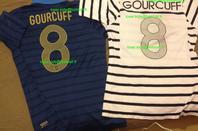 Maillot porté Yoann Gourcuff (France-Croatie et France-Islande)