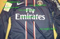Maillot porté David Beckham (PSG-OM).
