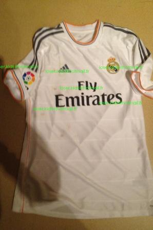 maillot porté Cristiano Ronaldo : Real Madrid - FC Séville