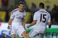 maillot porté Gareth BALE : Real Madrid - Villareal