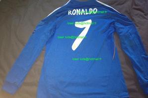 Maillot porté Cristiano Ronaldo : Galatasaray - Real Madrid