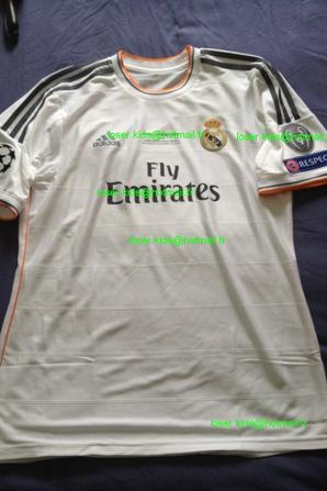 Maillot porté Karim Benzema finale Champions League 2014 (Real Madrid - Atletico Madrid)