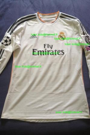 Maillot porté Gareth Bale finale Champions League 2014 (Real Madrid - Atletico Madrid)