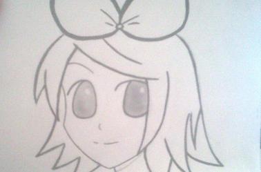 Petit tuto' d'une fille manga ;)