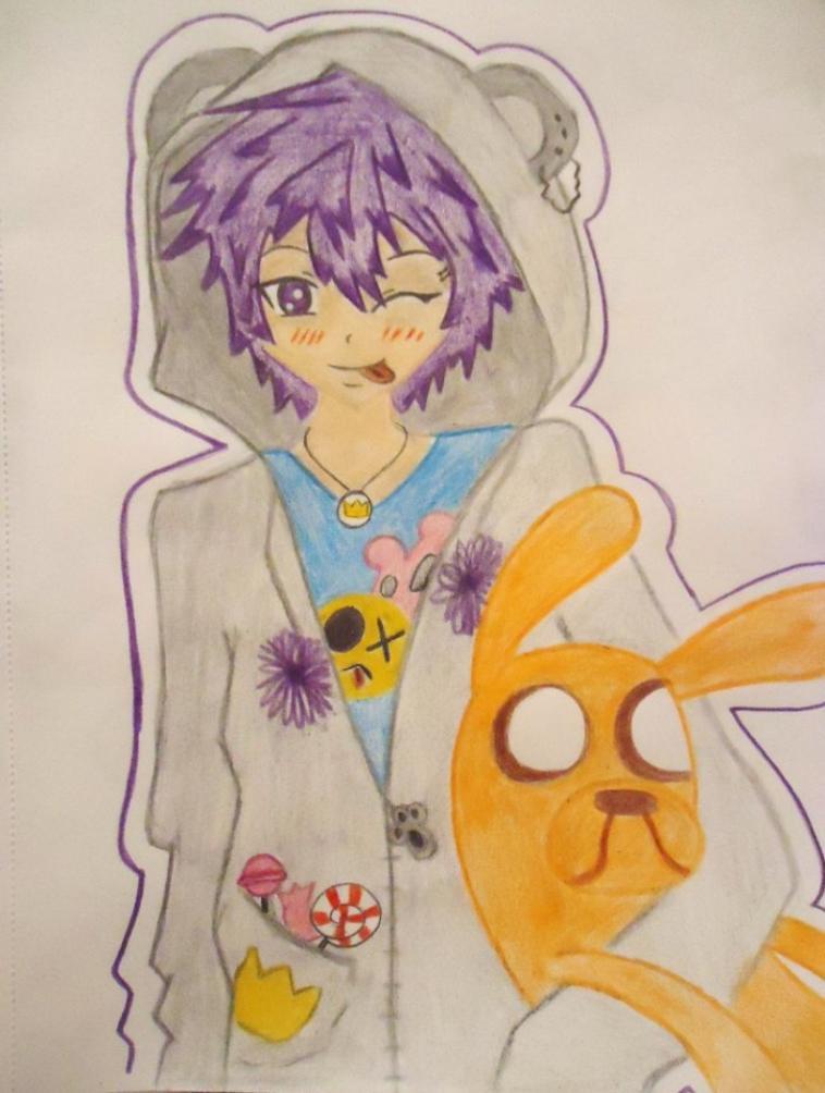 Et voila le dernier perso pour ton manga stitchou ;)