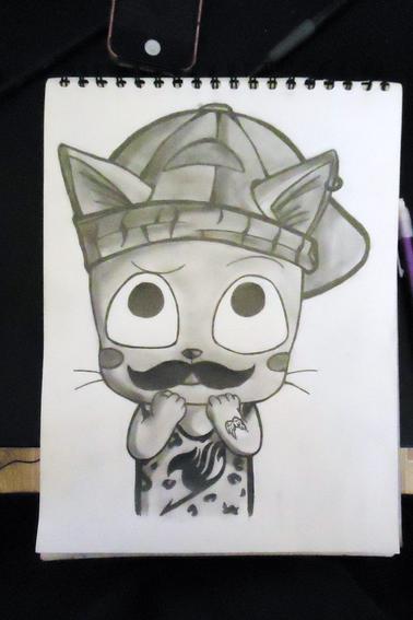Avec ou sans moustache le ptit happy ? :O
