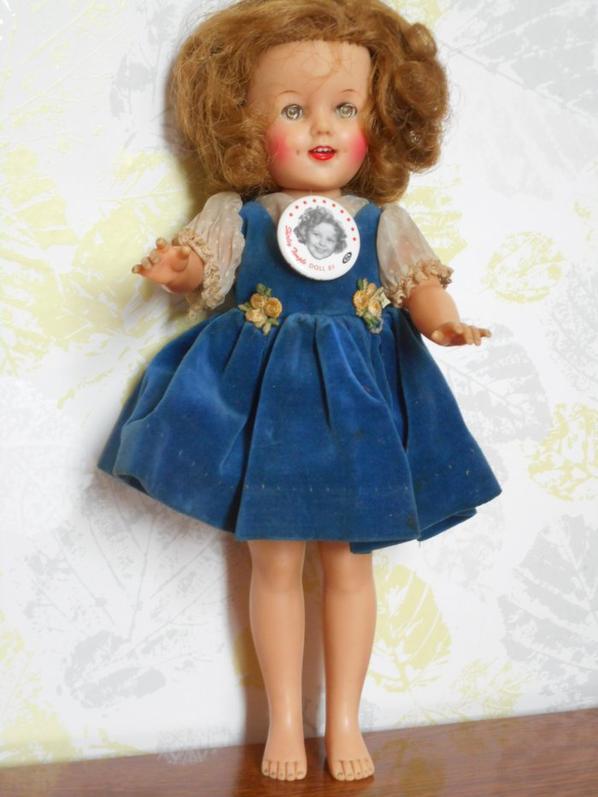Une petite Shirley Temple, venue des USA, pour ensoleiller ma journée!