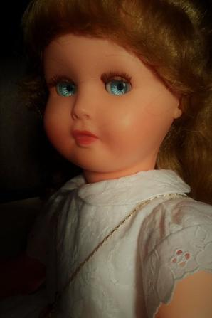 Les jolis yeux coucou de Corélie