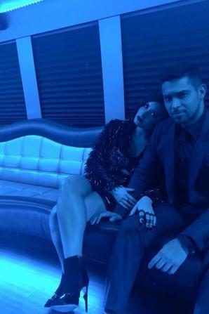 22 Novembre : Demi Lovato et son cheri à l'after party de Jennifer Lopez :