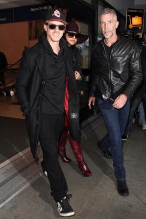 Nouvelles photos de Naya (❤) & Ryan à l'aéroport de LAX.